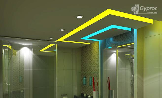 Bathroom Ceiling Designs False Design Saint