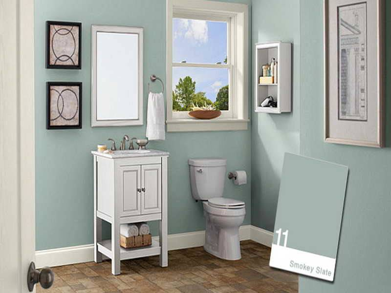 Bathroom Decorating Color Schemes Hot