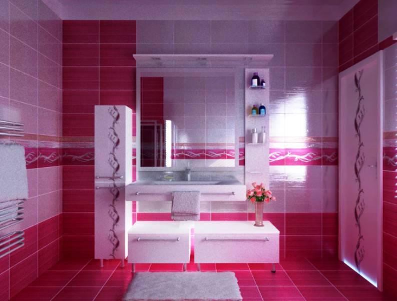 Bathroom Girly Design