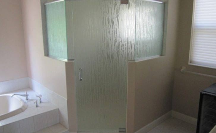 Bathroom Glass Mirrors Shower Doors Frosted