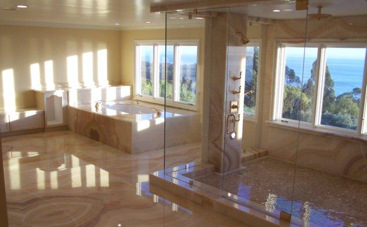 Bathroom Modern Luxury Bathtup Also Shower Room