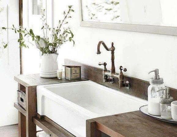 Bathroom Sink Rustic Urban Design Future Remodeling Plans