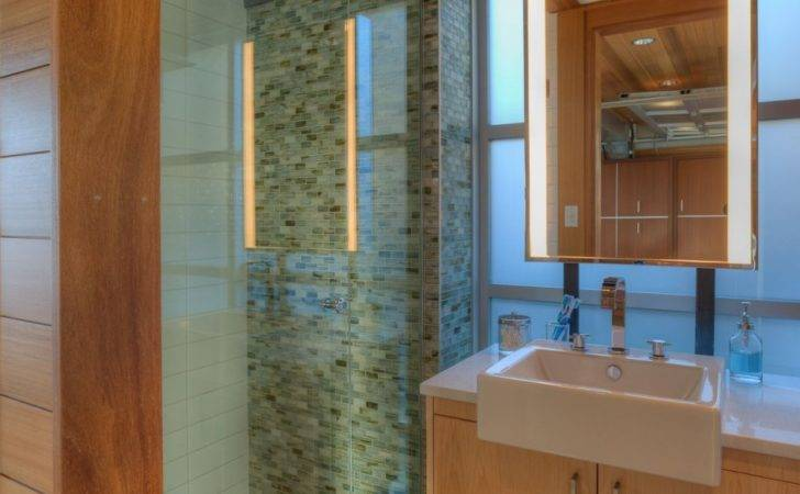 Bathroom Transparency Interior Shower Room Used Glass Wall Design