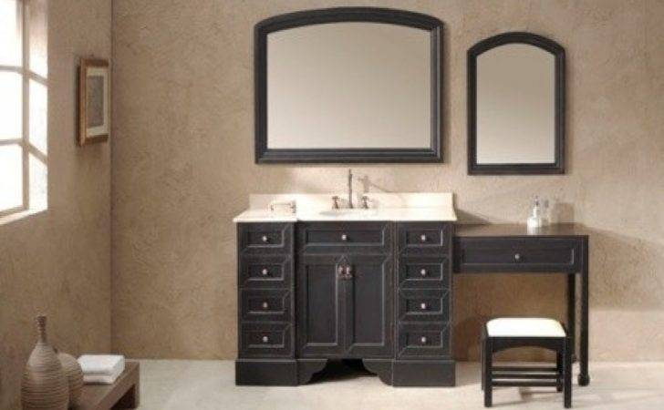 Bathroom Vanity Sitting Area Makeup Sinks