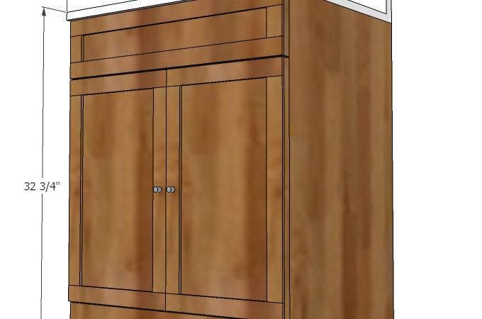 Bathroom Vanity Woodworking Plans Woodshop