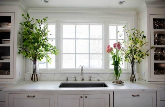 Bay Windows Above Sink Purchase Kitchen Window Ideas