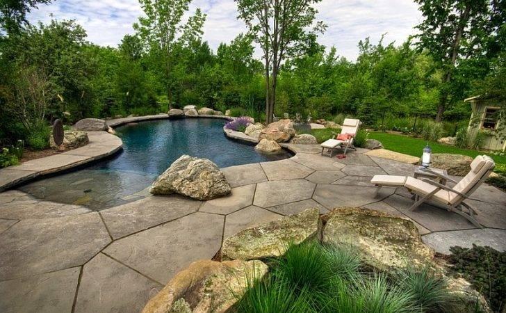 Beach Entrance Landscape Around Pool Make Truly