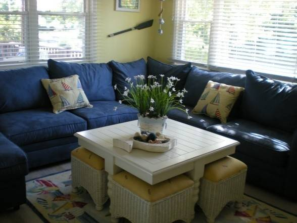 Beach House Living Room Love Table Stools Extra