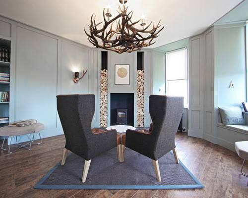 Beach Style Issaquah Highlands Home Living Design Ideas Renovations