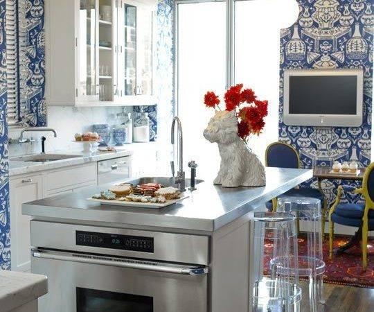 Beautiful Blue White Kitchen House Hill Pinterest