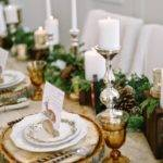 Beautiful Bridal Rustic Winter Table Settings