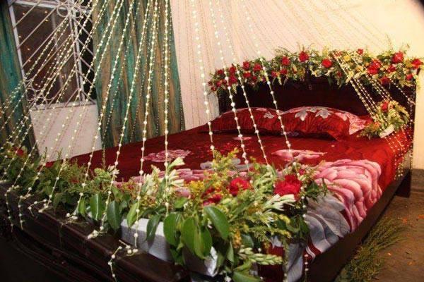 Beautiful Bridal Wedding Room Decoration Masehri Flowers Idea