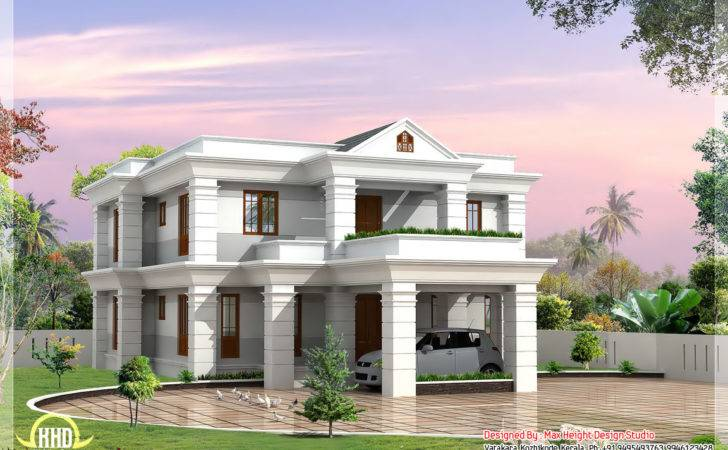 Beautiful Different Villa Elevations Home Appliance