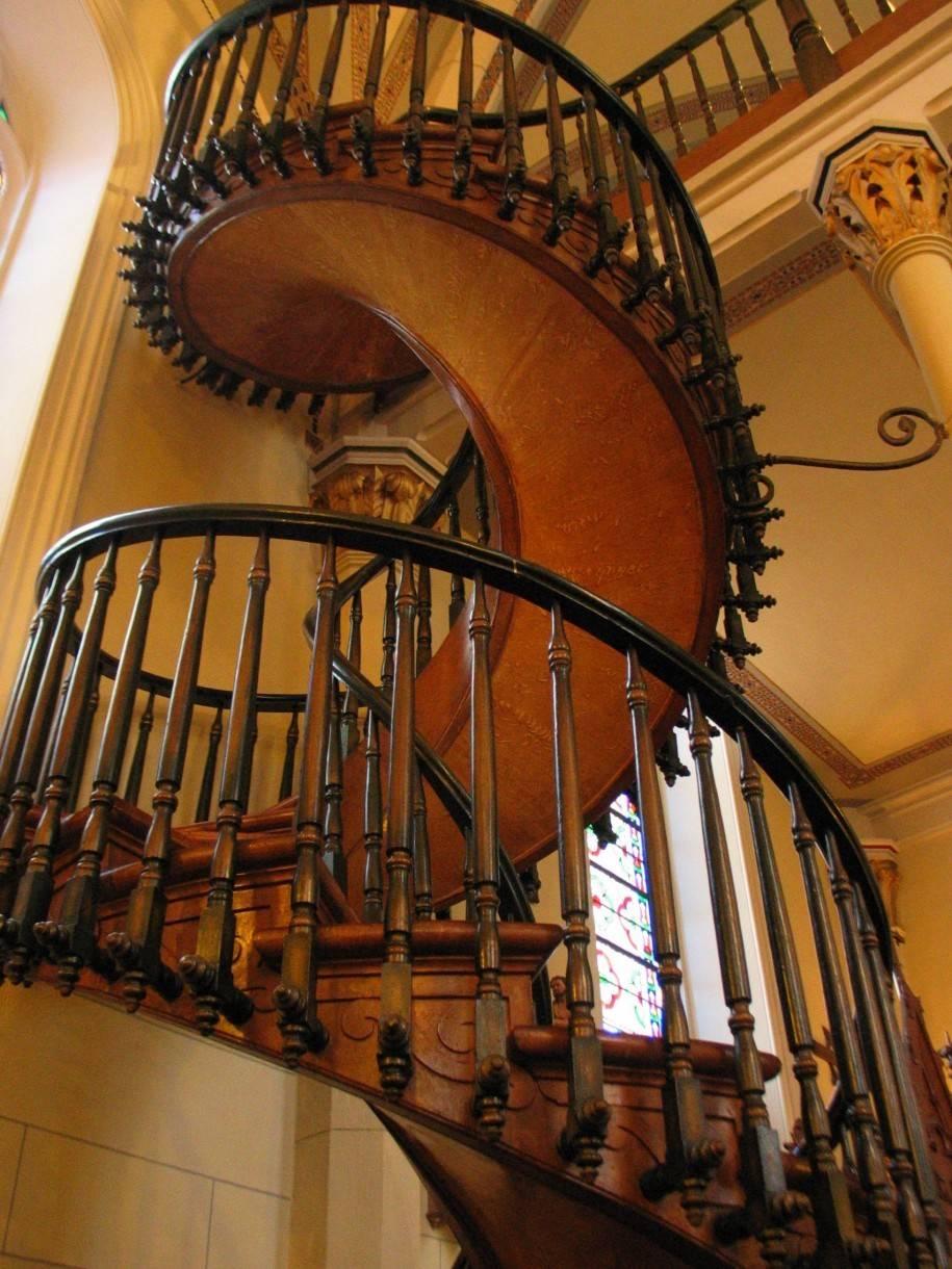 Beautiful Elegant Spiral Staircase