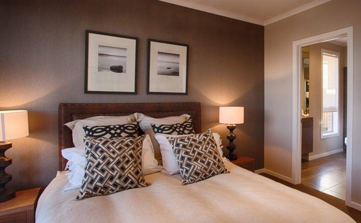 Beautiful Feature Wall Colour Master Bedroom