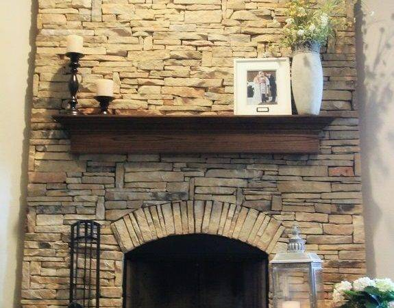 Beautiful Flag Stone Fireplace Dream Home Pinterest