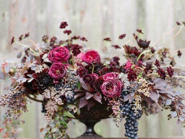 Beautiful Floral Arrangements Herbs Berries Max Gill