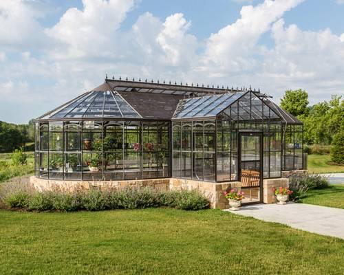 Beautiful Greenhouses Home Design Ideas Remodel Decor