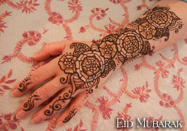 Beautiful Henna Mehndi Designs Eid These