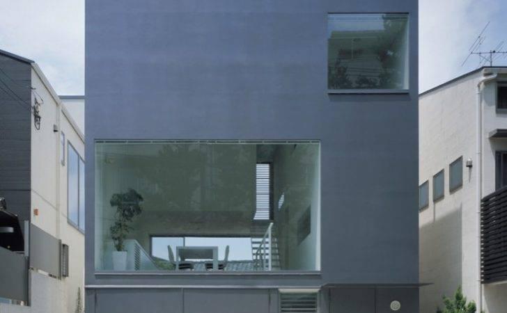 Beautiful Houses Industrial Design Minimalist House Tokyo Japan
