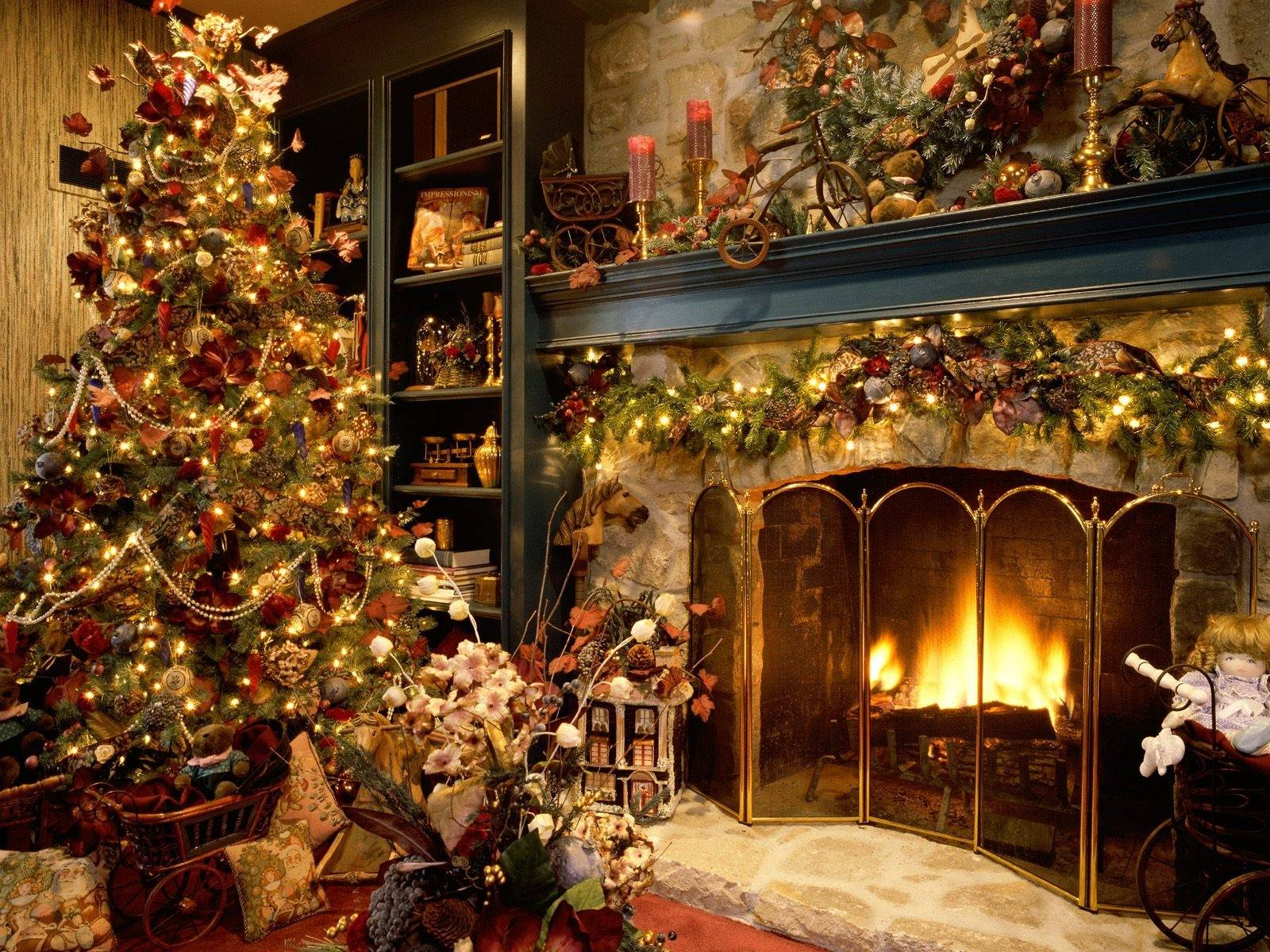 Beautiful Indoor Christmas Tree