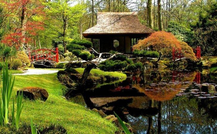 Beautiful Japanese Garden Water Gardens Pinterest