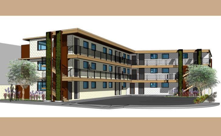 Beautiful Modern Apartment Design Exterior