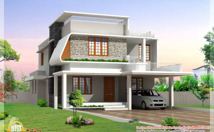 Beautiful Modern Home Elevations Architecture House Plans