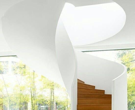 Beautiful Modern Spiral Staircase Stairway Heaven Pinterest