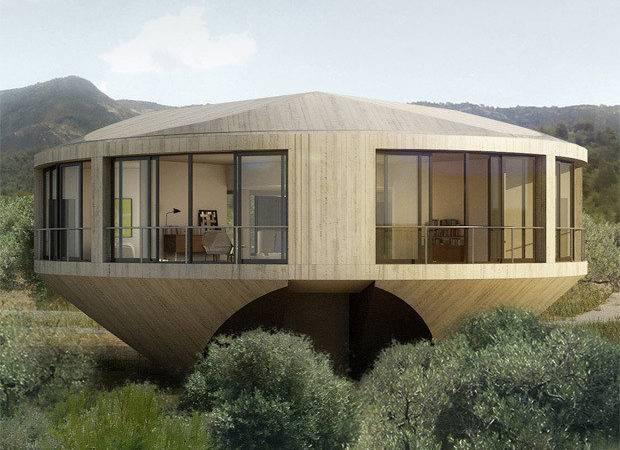 Beautiful Round House Unique Home Design Concept