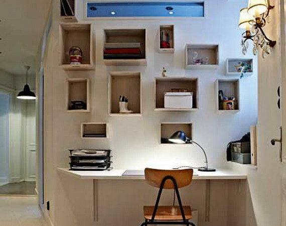 Beautiful Small Home Office Decorating Ideas