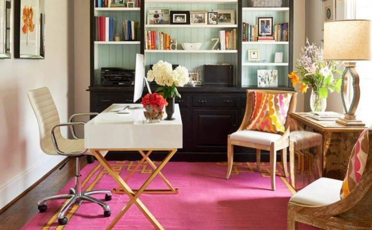 Beautiful Small Home Office Design
