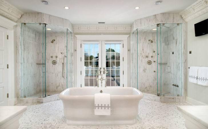 Beautiful Walk Shower Should Provide Serene Feeling Luxury