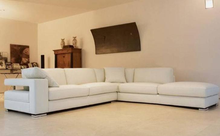 Beautiful White Shape Sofa Design