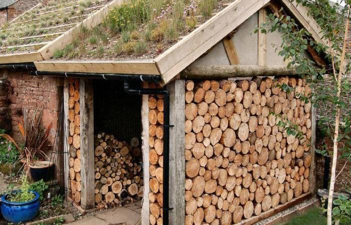 Beautifully Artistic Firewood Piles