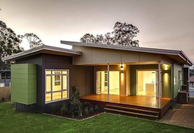 Bed Bath Prefab Modular Home Modern Brisbane Nova Deko