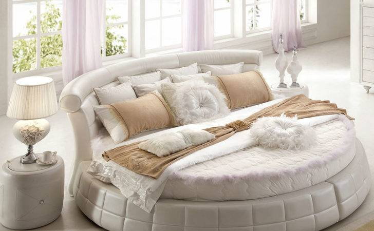 Bed Buy Round Corner Leather