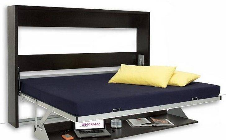 Bed Desk Combo Kids Murphy Elegant Plywood