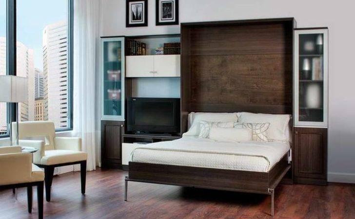 Bed Desk Ikea Hacker Murphy White Seat Make Simple Room