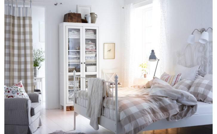 Bed Frame Leirvik White Lur