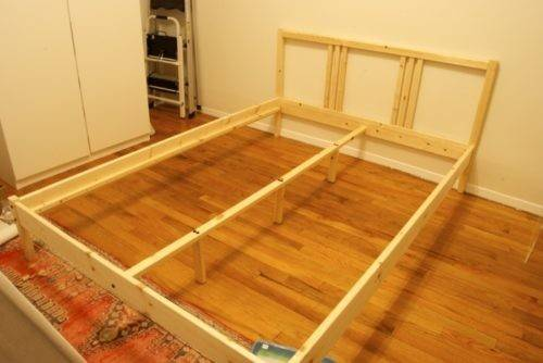Bed Frame Review Day Within Ikea Fjellse