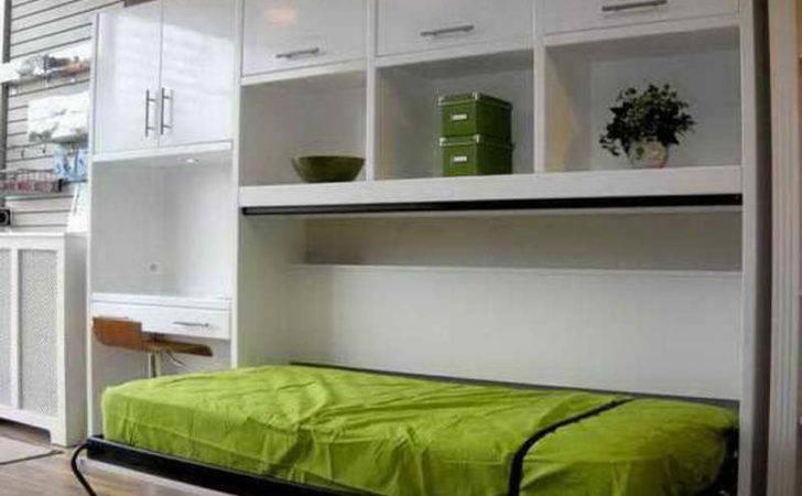 Bed Ikea Green Desk Combination Murphy