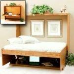 Bed Murphy Beds Diy Desk Kids Closet Wall