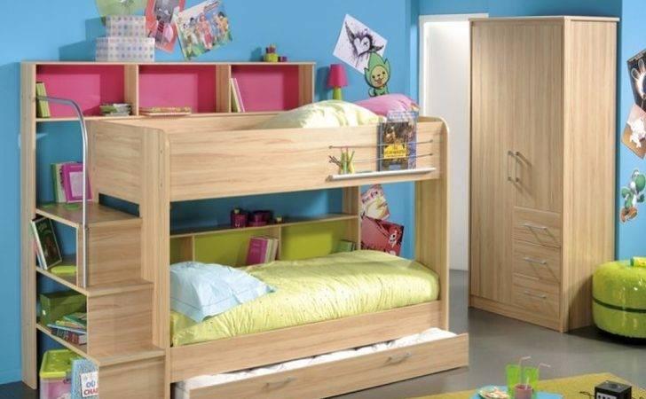 Bed Parisot Bibop Storage Bunk Guest Kids Beds