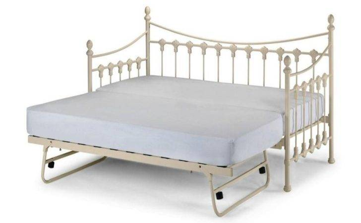 Bed Pop Trundle Frame Rail Daybed Twin
