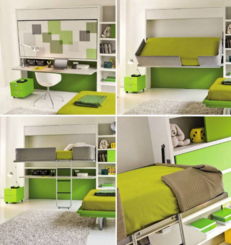 Bed Sofa Design Solution Small Space Transformable
