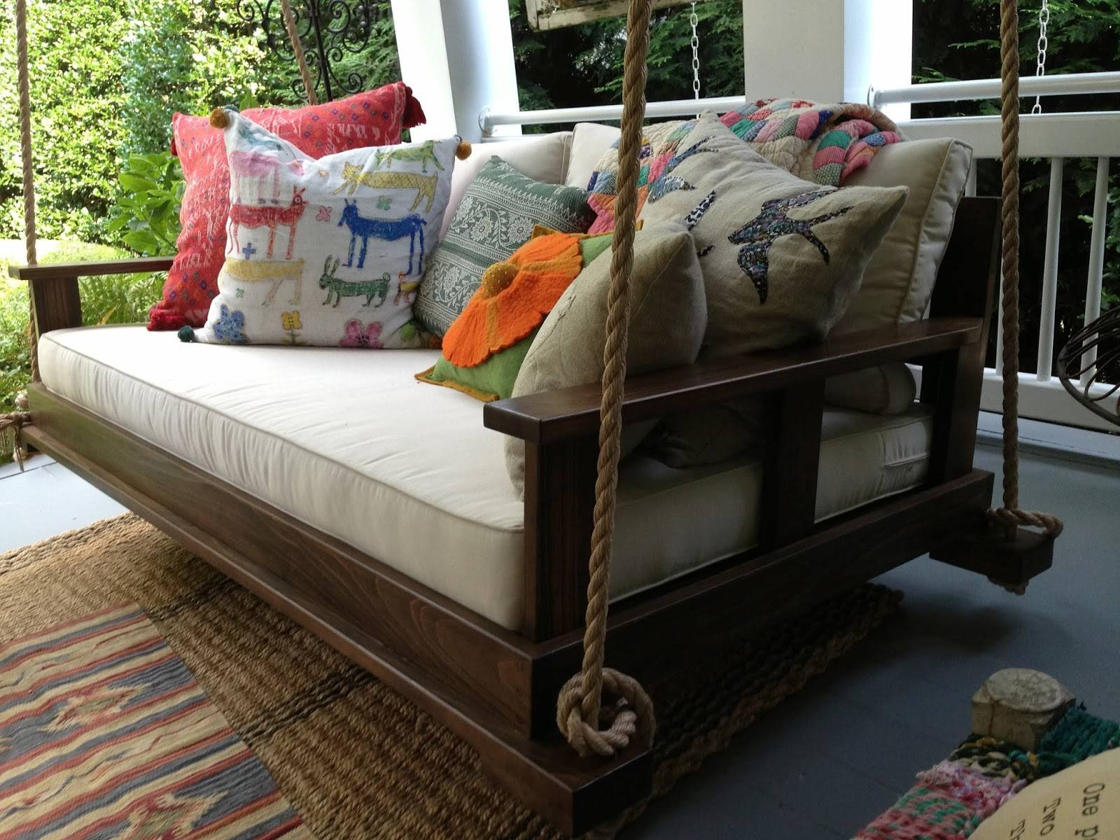 Bed Swing Front Porch Southern Tradition