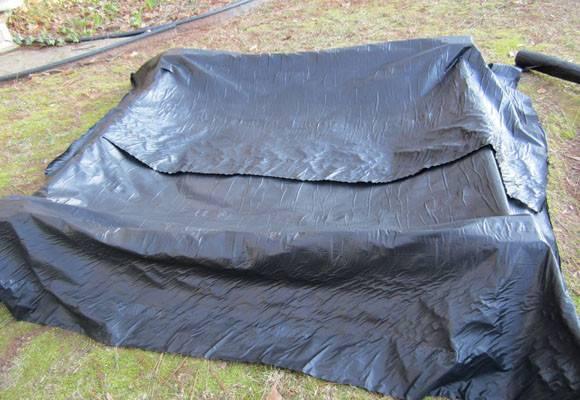 Bed Weed Block Landscape Fabric Barrier Between