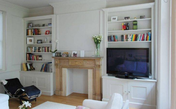 Bedroom Alcove Shelves Shelving Ideas
