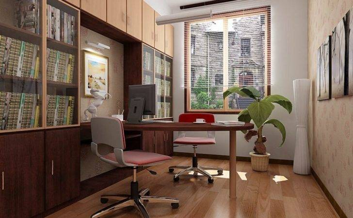 Bedroom Beautiful Small Office Decorat Home Design Houzz